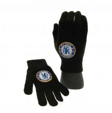 Chelsea FC Children's Knitted Gloves
